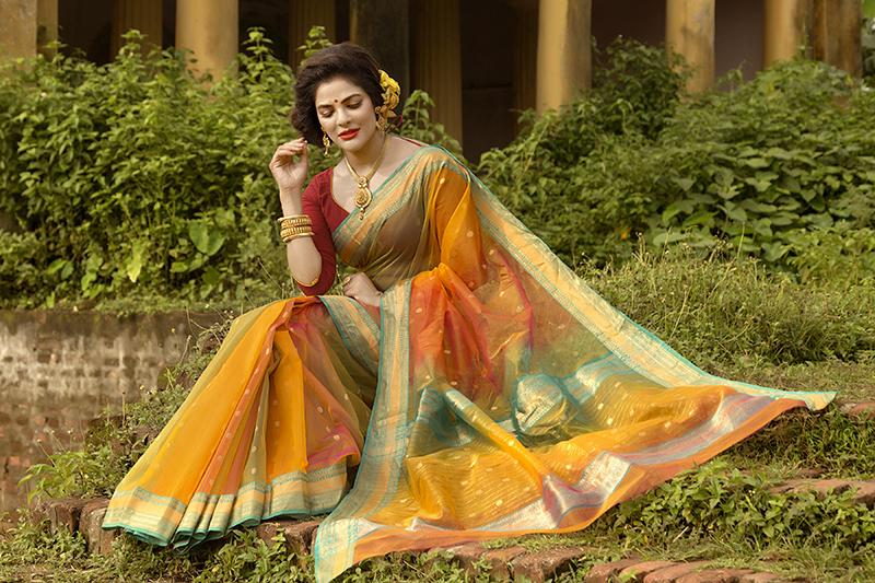 Chanderi Traditional Saree