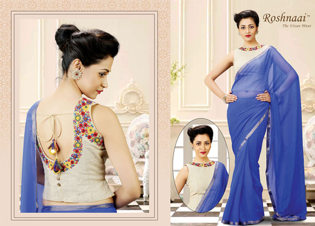 Expert's Guide To Color Contrast Your Saree And Readymade Blouse