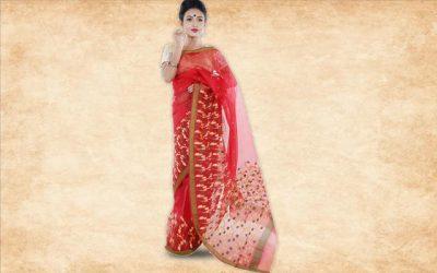 Chanderi Handloom Saree