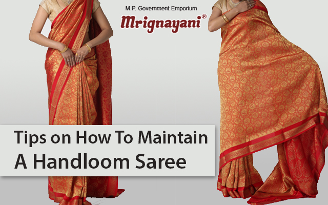 Maintenance Of A Handloom Saree (Part 1) - Stain Removal