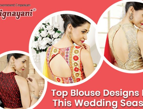 Make Your Saree Look Special with Designer Blouse