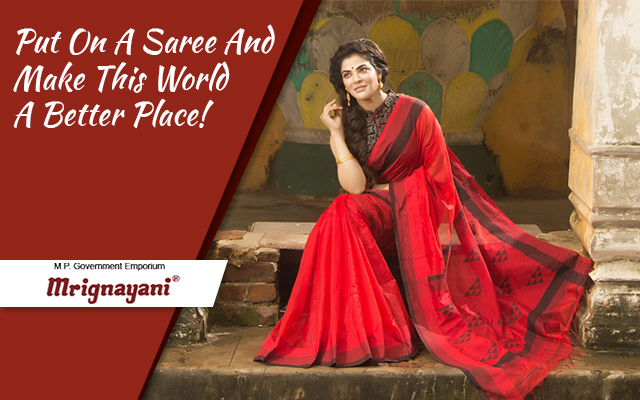Put On A Saree And Make This World A Better Place!