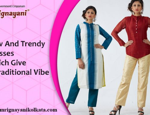 New And Trendy Dresses Which Give A Traditional Vibe
